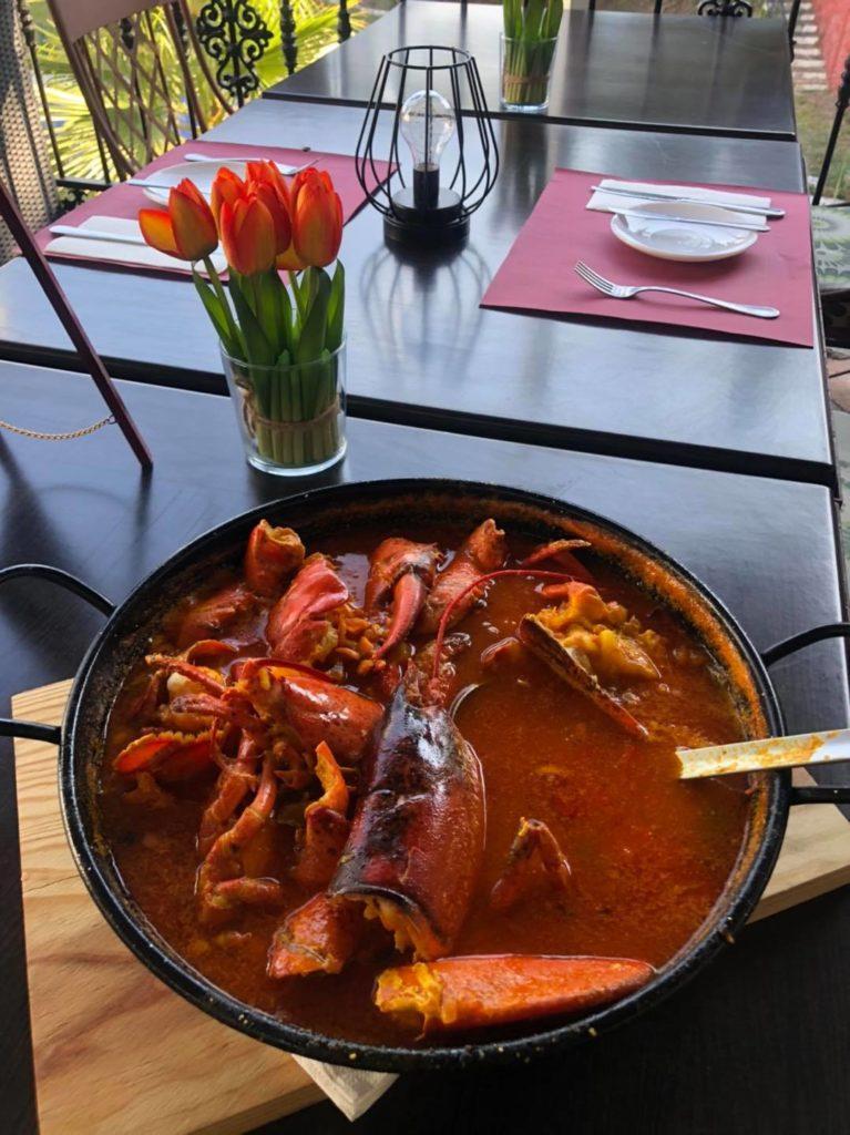 La Luna restaurante campomijas fuengirola bogavante lobster